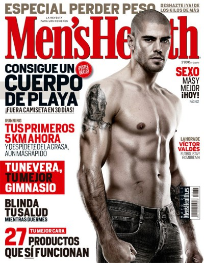 Mens Health cover May 2013