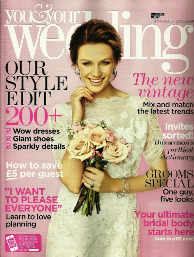 You and Your Wedding Cover - July 13